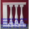 BO1, BO10, BO14, BO15 - v 83, 17 x 17 cm, 22 kg